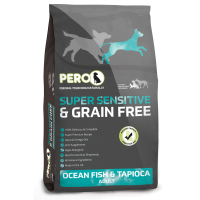 Pero Super Sensitive & Grain Free Ocean Fish & Tapioca Dog Food