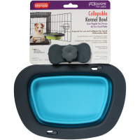 Dexas Popware Collapsible Kennel Bowl for Dogs