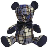Rosewood Chubleez Blueberry Bear Dog Toy