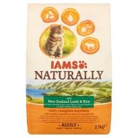 Iams Naturally New Zealand Lamb & Rice Adult Cat Food
