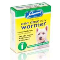 Johnsons Veterinary One Dose Wormer