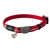 Rogz AlleyCat Red Reflective Cat Collar