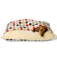 Charley Chau Luxury Cotton Snuggle Dog Bed