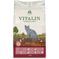 Vitalin Natural Salmon Dry Adult Cat Food