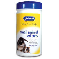 Johnsons Clean n Safe Small Animal Wipes