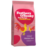 Feathers & Beaky Chicken Grit
