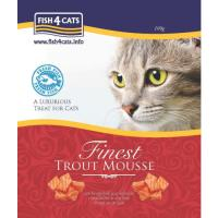 Fish4Cats Finest Trout Mousse Cat Food