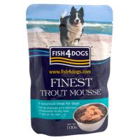 Fish4Dogs Trout Mousse Adult Dog Food