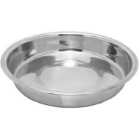Rosewood Stainless Steel Shallow Puppy Pan Dog Bowl
