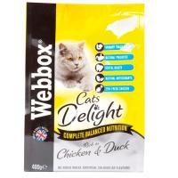 Webbox Cat Delight Complete Chicken & Duck Adult Cat food