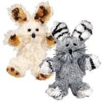 KONG Softies Fuzzy Bunny Cat Toy