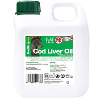 NAF Cod Liver Oil for Horses