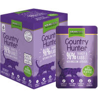 Natures Menu Country Hunter Turkey & Rabbit Adult Cat Food Pouches