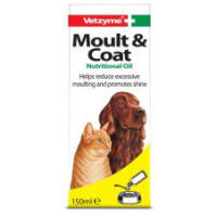 Vetzyme Moult And Coat Formula