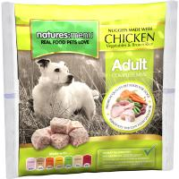 Natures Menu Complete Chicken Nuggets Raw Frozen Dog Food