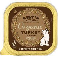 Lilys Kitchen Organic Turkey Dinner Complete Wet Cat Food