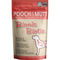 Pooch & Mutt Bionic Biotic Concentrate Dog Skin & Digestion Supplement