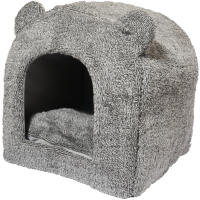 Rosewood Teddy Bear Cat Bed