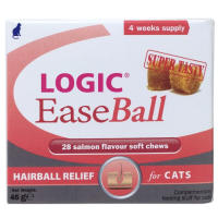 Logic EaseBall Hairball Relief Cat Chews