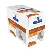 Hills Prescription Diet Feline KD Kidney Care Pouches