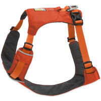 Ruffwear Hi & Light Reflective Dog Harness Orange