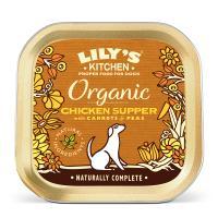 Lilys Kitchen Organic Chicken & Spelt Supper Dog Food