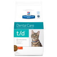 Hills Prescription Diet TD Dental Care Chicken Dry Cat Food