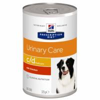 Hills Prescription Diet CD Multicare Urinary Dog Food Chicken Cans