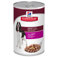 Hills Science Plan Canine Adult Advanced Fitness Beef Canned