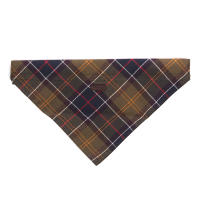 Barbour Dog Bandana in Classic Tartan