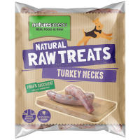 Natures Menu Turkey Necks Raw Frozen Natural Dog Treat