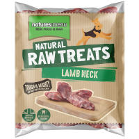 Natures Menu Lamb Neck Raw Frozen Natural Dog Treat