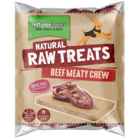 Natures Menu Beef Meaty Chews Raw Frozen Natural Dog Treat