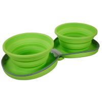 Rosewood Travel Zip Up Dual Bowls