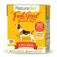 Naturediet Feel Good Chicken Wet Adult Dog Food Carton