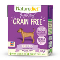 Naturediet Feel Good Grain Free Puppy Wet Dog Food Cartons