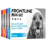 FRONTLINE Plus Flea & Tick Spot On Treatment Dog