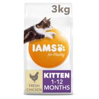IAMS for Vitality Chicken Dry Kitten Food