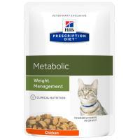 Hills Prescription Diet Feline Metabolic Weight Management Pouches