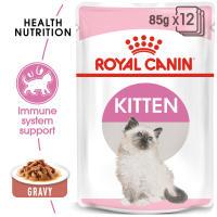 Royal Canin Kitten in Gravy Wet Cat Food Pouches