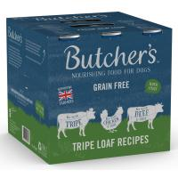 Butchers Tripe Loaf Recipes Dog Food Tins 400g x 54