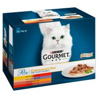 Gourmet Perle Delicate Meats Duo Cat Food
