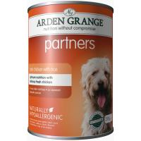 Arden Grange Partners Chicken & Rice Wet Adult Dog Food
