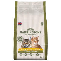 Harringtons Complete Turkey & Chicken Dry Adult Cat Food