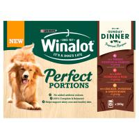 Winalot Perfect Portions Sunday Dinner Adult Wet Dog Food