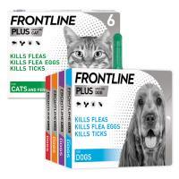 FRONTLINE Plus Flea & Tick Spot On Multi Buy