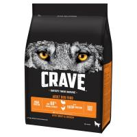 CRAVE Turkey & Chicken Adult Dry Dog Food