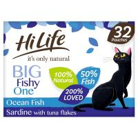 HiLife Its Only Natural Seafood Selection in Jelly Adult Cat Food