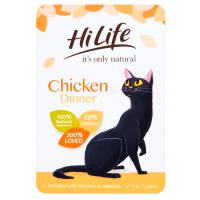 HiLife Its Only Natural Chicken Dinner in Jelly Adult Cat Food