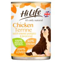 HiLife Its Only Natural Chicken Terrine Wet Adult Dog Food